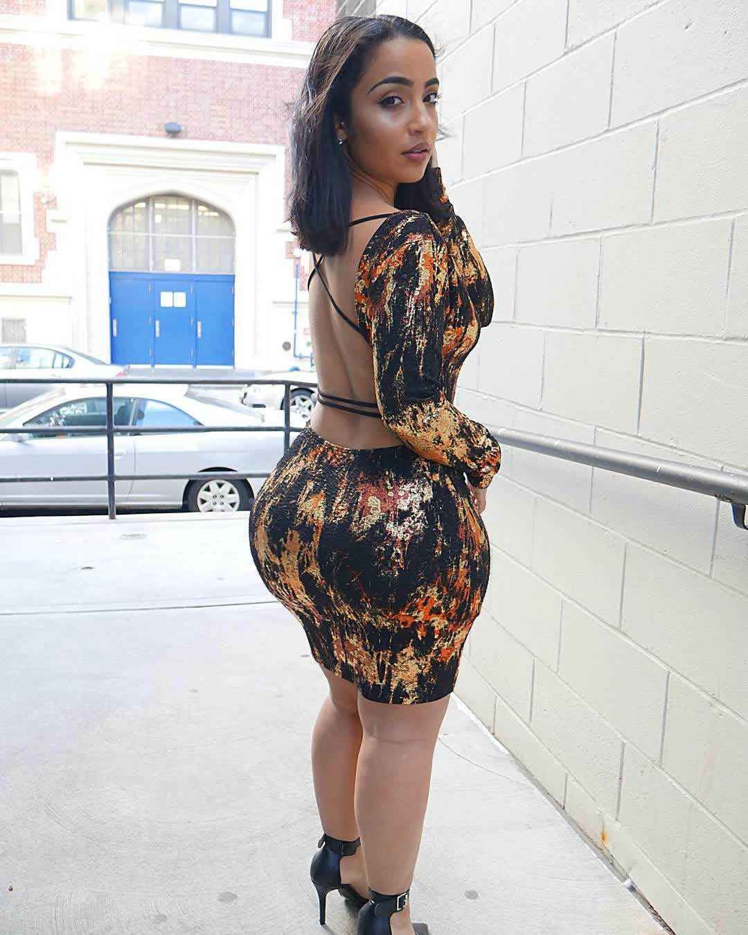 This Curvaceous Model Is Showing Off Her Plus